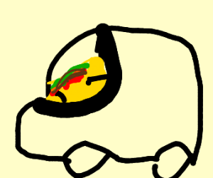 a taco speeding