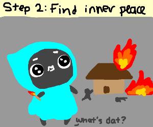 Step 1: Go crazy