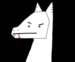 angry llama vampire