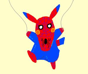 Spiderman Pikachu