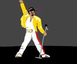 Freddie Mercury being beautiful