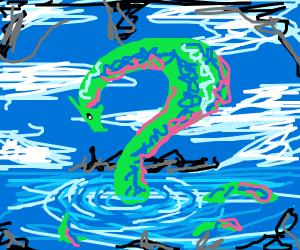 beatiful water dragon