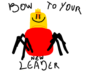 despacito spider/ our new ruler