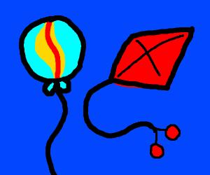 Kite & ballon