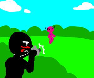 Pervert Stalking in the Park