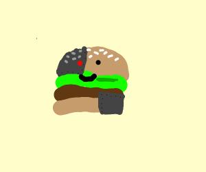 Cyborg hamburger