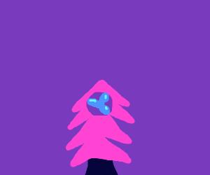 tree with fan