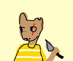 Arthur is a hardened criminal now