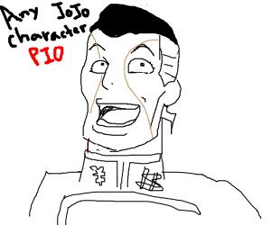 Any Jojo Chracter P.I.O.