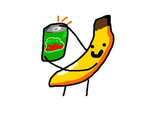 Banana has mtn dew