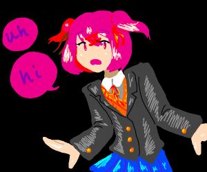 natsuki says hi