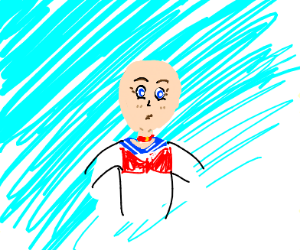 bald sailor moon (I hate myself for you)