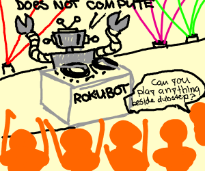 Robot DJ Gone Bad
