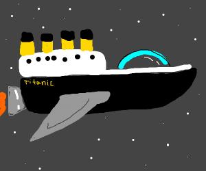 Titanic As a Spaceship
