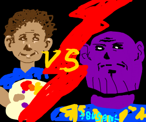 BOB ROSS VS THANOS