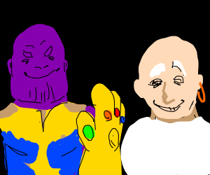Thanos vs mr clean