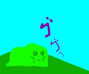derpy green blob