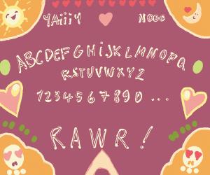 Kawaii Ouija Board