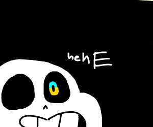 Sans. Blue eye, duh