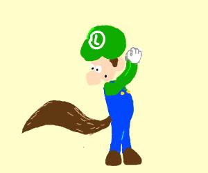 Luigi got a tail