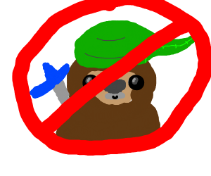 No Sloth Links Allowed!