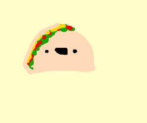 happy hard shell taco