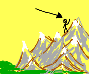 Man on a Mountain