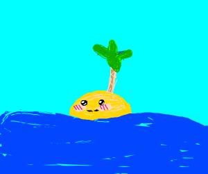 cute little beach