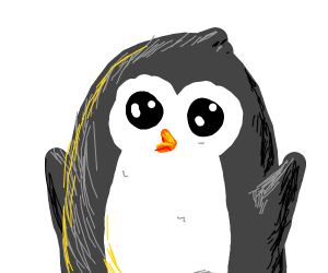 Cute Happy Penguin