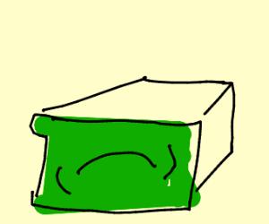 A dumpy sad face