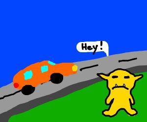 Car: Monster: Hello!