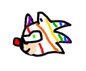 Rainbow sonic