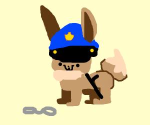 Police Officer Eevee