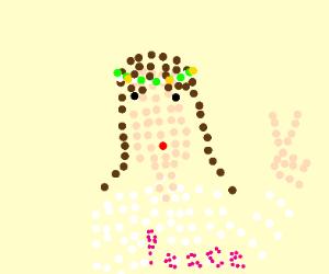Pixel hippie