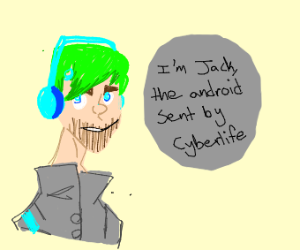 Draw Jacksepticeye in D:HB (PIO)