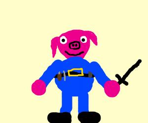 Police pig
