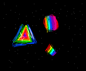 gay space shapes