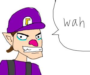 Waluigi says wah