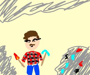 hipster miner