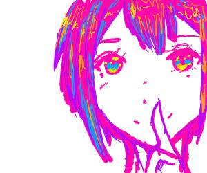 cool anime girl