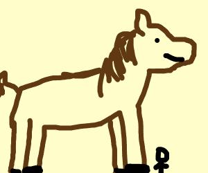 Enormous Horse
