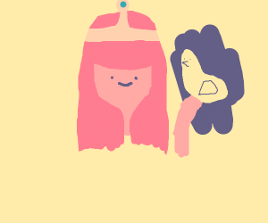 princess bubblegum has duck