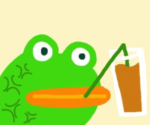 Happi Pepe with chocci milk