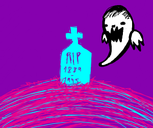 A tomb stone (Duoitoo Owl ; ?-2019)