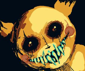 Freaking creepy pikachu