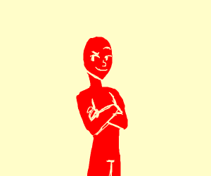 Lenny face red man