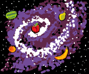 Chaotic Fruit Galaxy