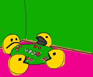 Pac-Man poker