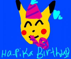 Pika birthday to you