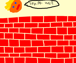 Wall, the trump's senpai
